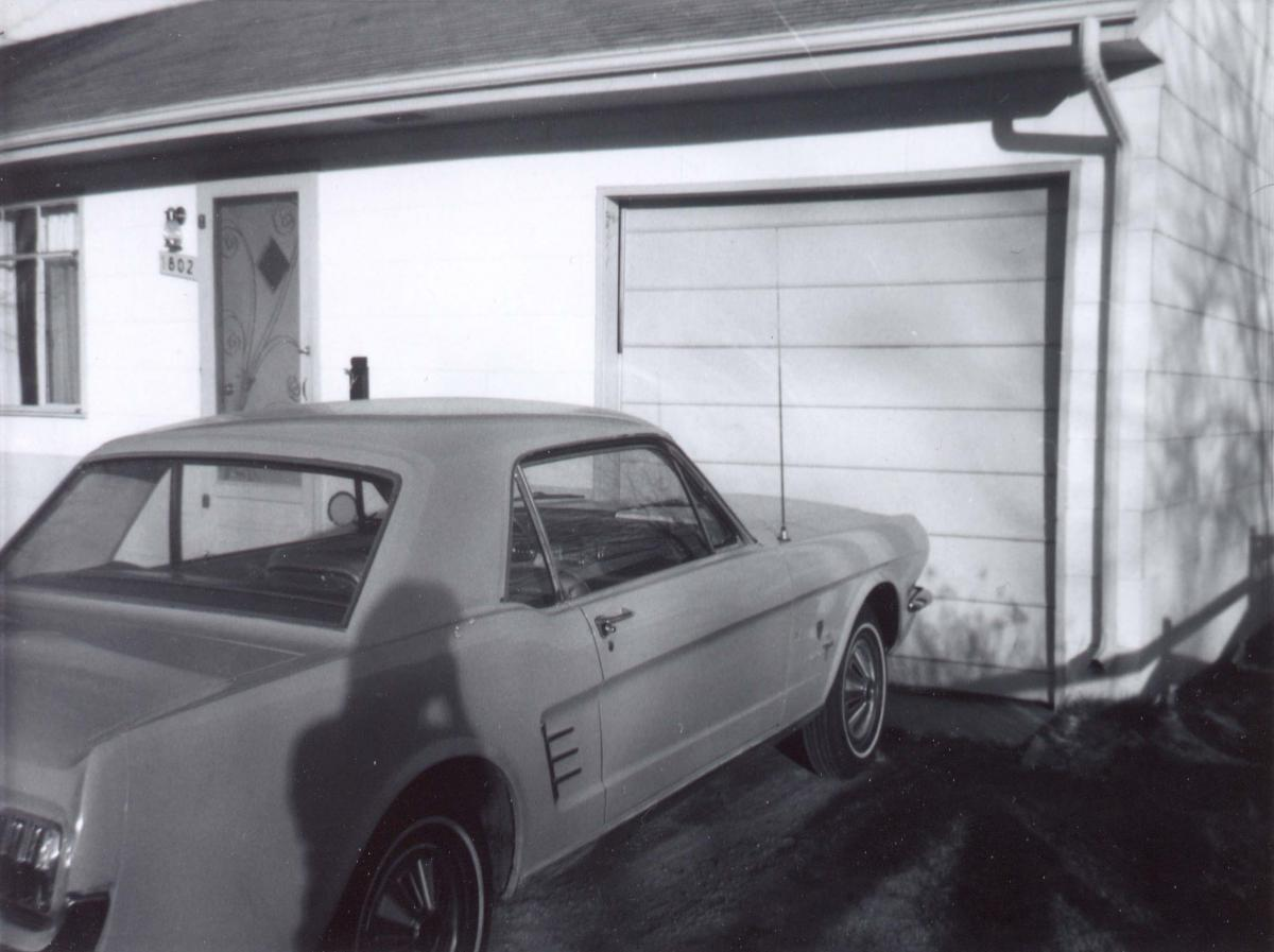 December 1966 - The car was four months old...