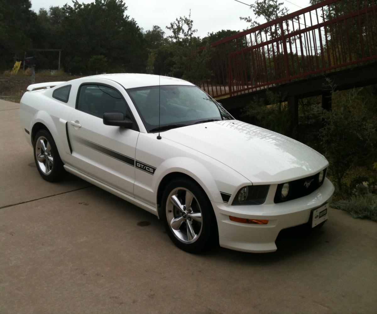 My 2008 GT/CS, I purchased on 11/5/11, I had wanted one since 2007 but the recession made me wait