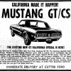 1968 GT/CS Cutter Ford ad